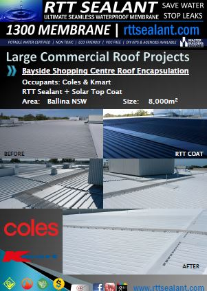 Large commercial roofs