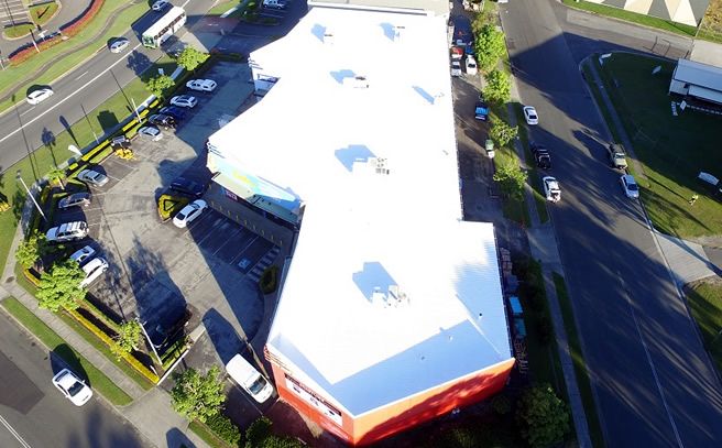 Commercial Retailers Roof